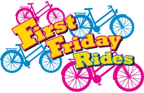 First Friday Rides logo