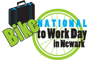 National Bike to Work Day in Newark logo