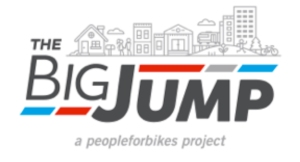 logo of The Big Jump a PeopleForBikes Project