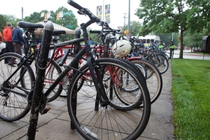 photo of bicycles