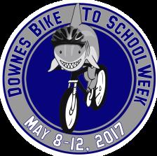 Downes Bike to School Week logo