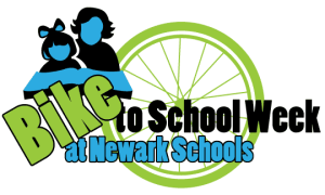 Bike to School Week at Newark Schools logo