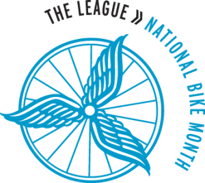 League of American Bicyclists National Bike Month logo