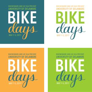 UD Bike Days logos