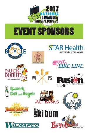 Bike to Work Day 2017 sponsor logos