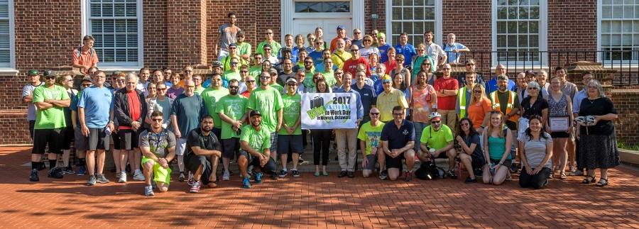 Bike to Work Day 2017 group photo