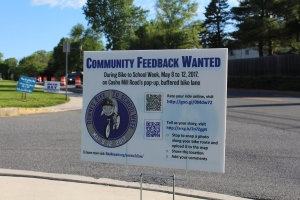 "photo of event ""feedback wanted"" sign"