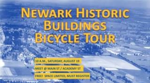 Newark Historic Buildings Bicycle Tour cover photo