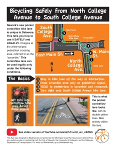 image of contraflow info flyer