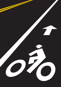 bike lane graphic