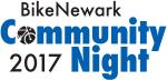 graphic for 2017 BikeNewark Community Night