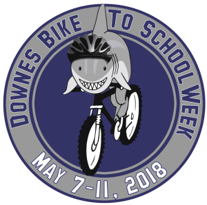 Downes Bike to School Week 2018 logo