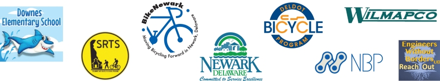 graphic of Bike to School Week partner organization's logos