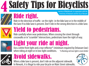 4 Safety Tips for Bicyclists