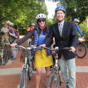 photo of Christine Schultz and Matt Kinservik