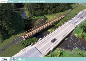 engineering artist's rendering of Emerson Bridge