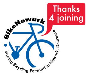 Thanks for joining BikeNewark