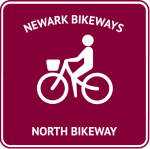 graphic of North Bikeway sign